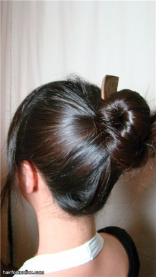 Hair Knot Style