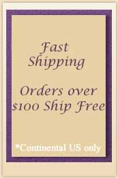 $4.95 Flat Rate Standard Shipping on US Orders