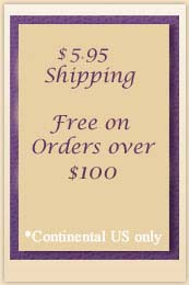 $5.95 Flat Rate Standard Shipping on US Orders