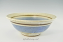 "Handmade Pottery Bowl 12"" in Old Republic Glaze"