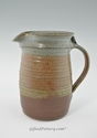 Handmade Pottery Pitcher 72 oz - Oasis Glaze