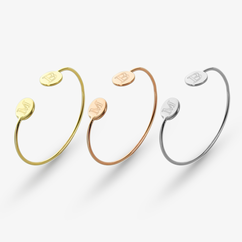 Personalized Double-Initial Bracelet
