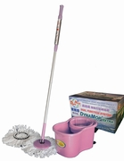 GUARANTEED SATISFACTION DynaMop®Extra Dual Function Spin Mop