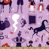 1001 Peeps Cotton Fabric - Purple A-5469-P