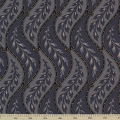 1862 Battle Hymn Cotton Fabric - Blue Fabric