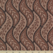 1862 Battle Hymn Cotton Fabric - Brown