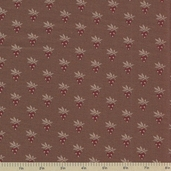 1862 Battle Hymn Cotton Fabric - Brown Oak