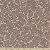 1862 Battle Hymn Cotton Fabric - Hampton Roads Stonewall Gray