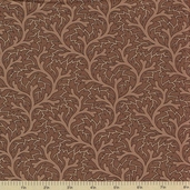 1862 Battle Hymn Cotton Fabric - Oak Brown