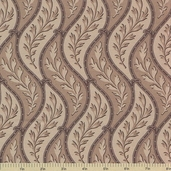 1862 Battle Hymn Cotton Fabric - Sharsburg Tan