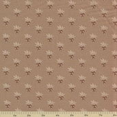1862 Battle Hymn Cotton Fabric - Sharsburg Tan Berries