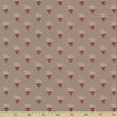 1862 Battle Hymn Cotton Fabric - Stonewall Grey