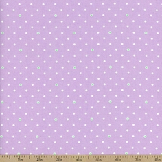 1930's Classics Dot Cotton Fabric - Purple