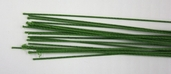 22G Cloth Wrapped Floral Stem Wire Pkg of 2 - Green