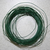 24G Coil Florist Wire Pkg of 2 - Green