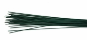 24G Floral Stem Wire Pkg of 2 - Green