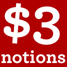 $3 Notions