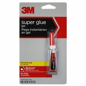 3M Super Glue Gel 3pks