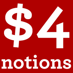 $4 Notions
