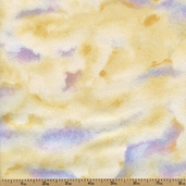 A Change Of Scenery Clouds Flannel Cotton Fabric - Cream 1848-63005-154 - Clearance