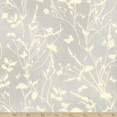 A Field Guide Meadow Cotton Fabric - Drizzle