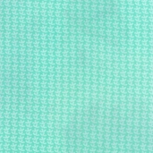 A Is For Alligator Cotton Fabric - Aqua - CLEARANCE