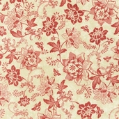 A La Maison Cotton Fabric - Rose - ATD-11523-97 - Clearance