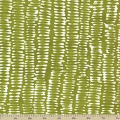 A Stitch in Color Dalis Lines Cotton Fabric - Acid Green