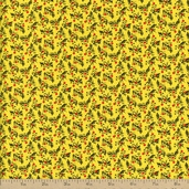 A Touch of Baltimore Calico Cotton Fabric - Yellow