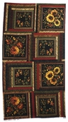 Abundance Autumn Bouquet Cotton Fabric - Panel
