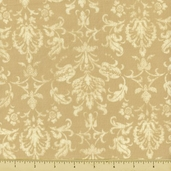 Abundance Harvest Damask Cotton Fabric - Ecru