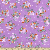 Adventures with Alice Cotton Fabric - Floral Toss - Hibiscus ADZ-11457-27