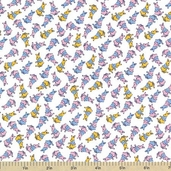 Adventures with Alice Cotton Fabric - Pastel - ADZ-11460-198