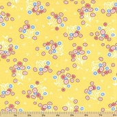 Adventures with Alice Cotton Fabric - Screamin Yellow - ADZ-11457-140