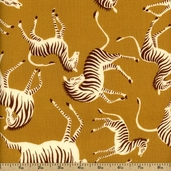 Africa Kewende Cotton Fabric - Natural DE#7654 B