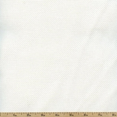 Aida Cloth 60 Inch Wide Cotton Fabric - White