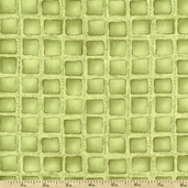 Al Dente Ravioli Cotton Fabric - Green