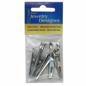 Alligator Clips from Darice - 45mm - Silver