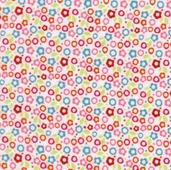 Alphabet Soup Flannel Fabric