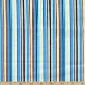Alpine Frost Striped Flannel Fabric - Aqua ASWF-9840-70 AQUA