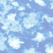 American Elk Cotton Fabric - Blue Sky