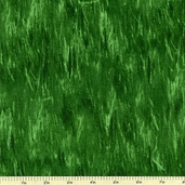 American Elk Cotton Fabric - Green  - Clearance