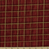 Among the Pines Grid Cotton Fabric - Brown 1828-82406-279W