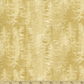 Among the Pines Trees Cotton Fabric - Cream 1828-82404-122W