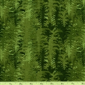 Among the Pines Trees Cotton Fabric - Green 1828-82404-777W