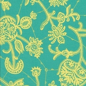 Amy Butler Lark Souvenir Cotton Fabric - Mineral