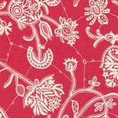 Amy Butler Lark Souvenir Cotton Fabric - Persimmon