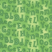 Animal Alphabet Collection - Green - CLEARANCE