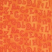 Animal Alphabet - Orange - CLEARANCE