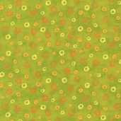 Animal Party Cotton Fabric - Lime - AQK-7814-50